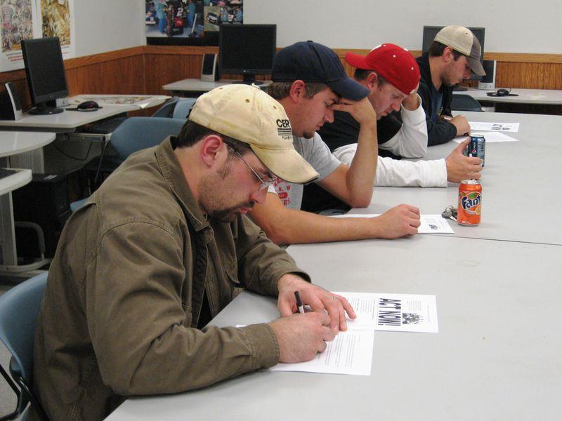 UA 434 - Letter Signing I - 10-7-09