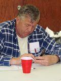 Herb Krupp of AFSCME local 67 calls for AFSCME gotv phone bank Racine
