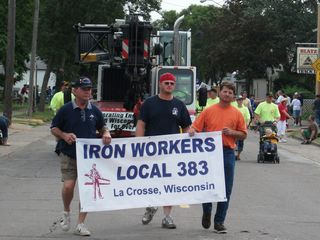 Labor Day 2010 - III - LC Parade - Iron Workers 383