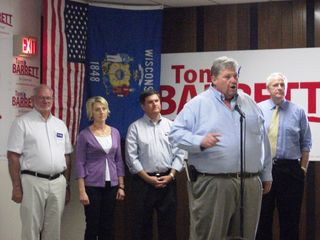 Barrett Rally in Eau Claire - 10-12-10 - 10