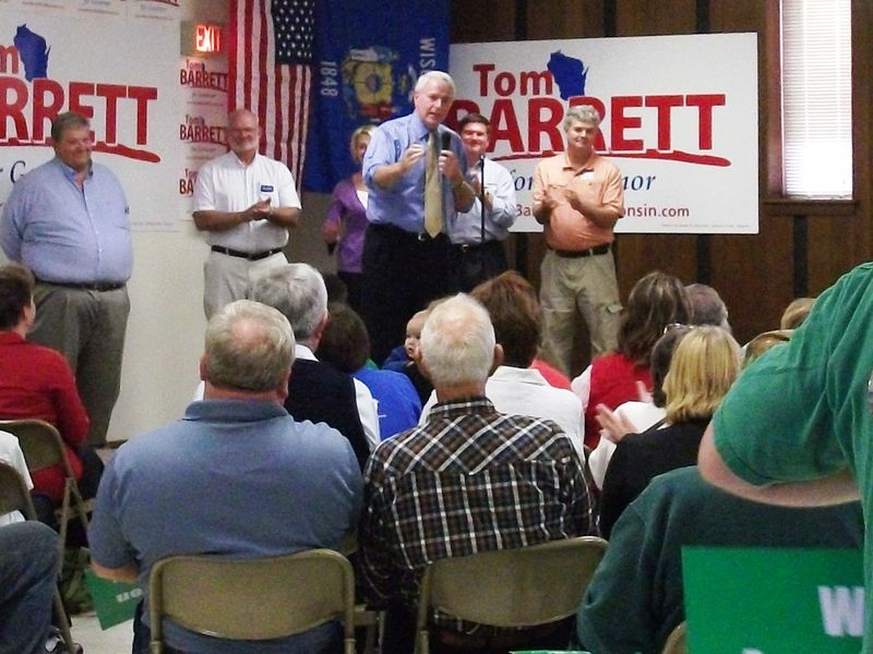 Barrett Rally in Eau Claire - 10-12-10 - 17