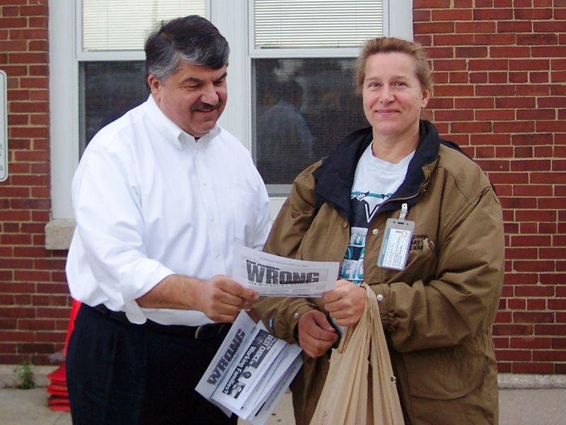 Rich Trumpka and Cindy Kropp