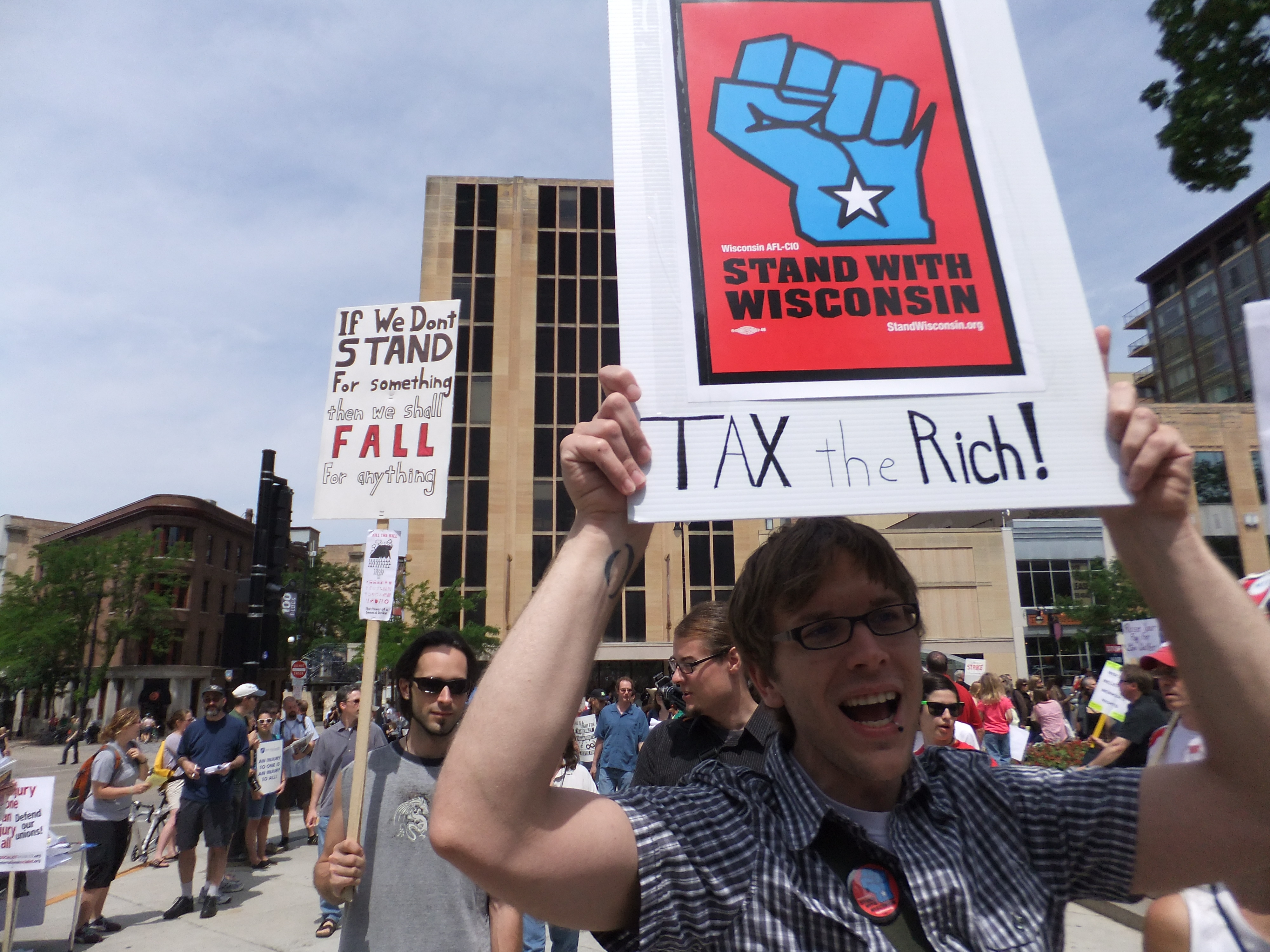 Wisconsin Workers file lawsuit to block Anti-Union Bill