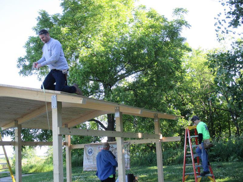 Union volunteers at work_Horicon Marsh