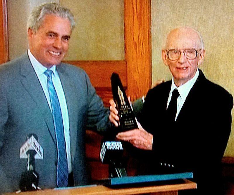 Ken with Bob Bauman